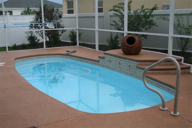 Fiberglass pools t d pool spa constructiont d pool for Fiberglass pool installation